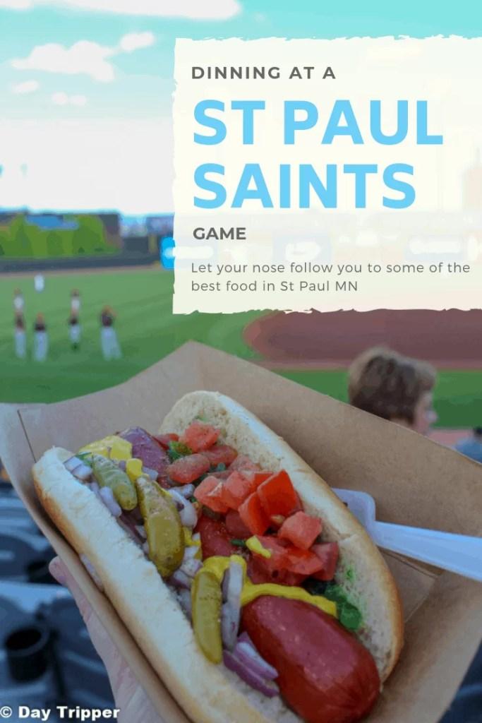 All the best eats at a St Paul Saints Game. #TwinCities #Saint Paul #Baseball #Summer