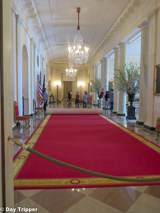 Cross Hallway in the White House