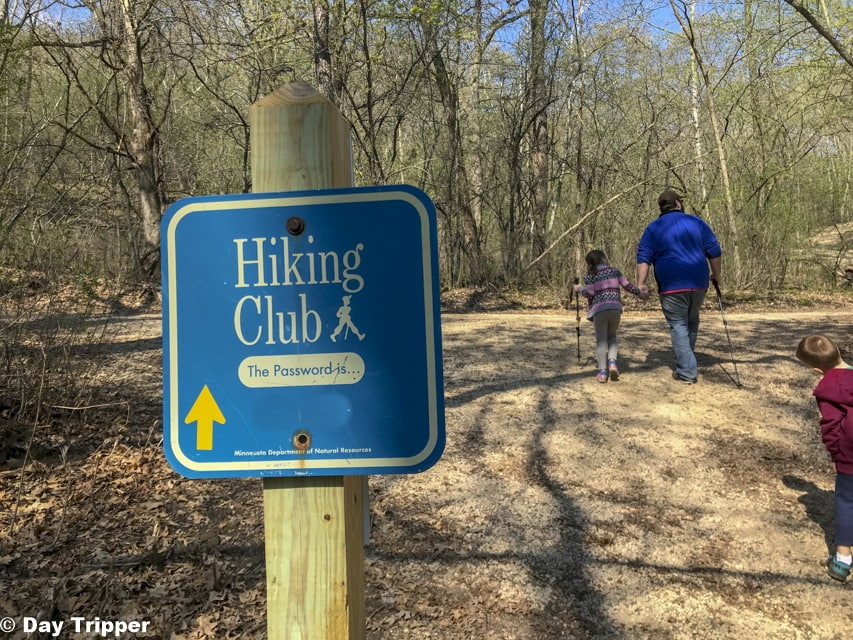 Hiking Club Password Afton State Park