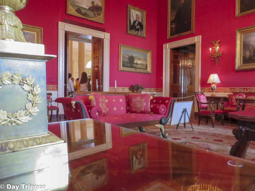 The Red Room White House Tour