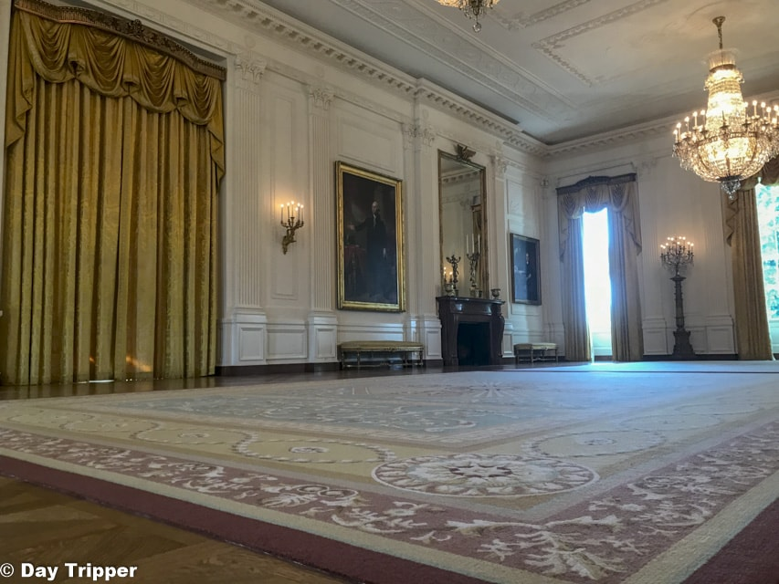 The East Room in the White House