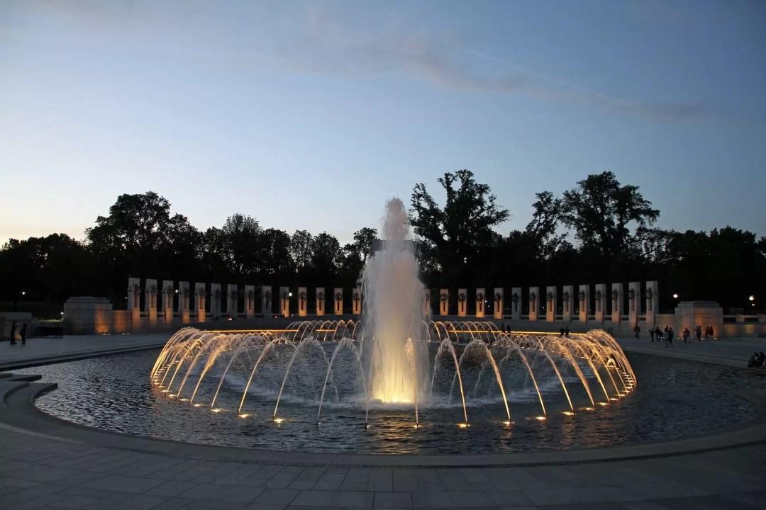 WWII Memorial in Washington DC