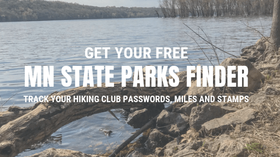 Get your free MN State Parks Finder spreadsheet to track all your hiking club miles and stamps collected. It also track how far the park is away from Minneapolis!