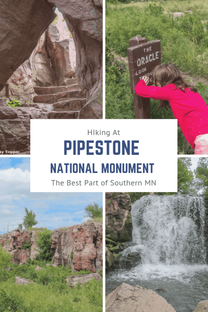 Hiking in Pipestone National Monument