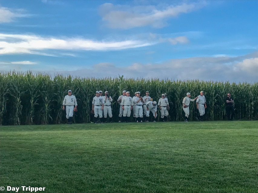 The Ghost Players at the Field of Dreams Movie Site