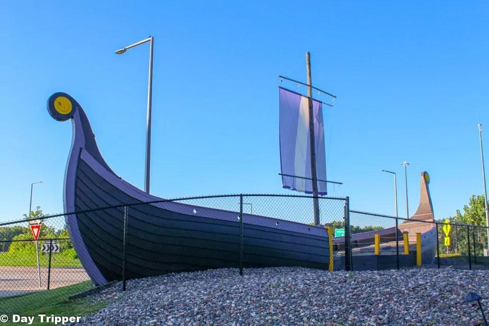Viking Ship in Eden Prairie