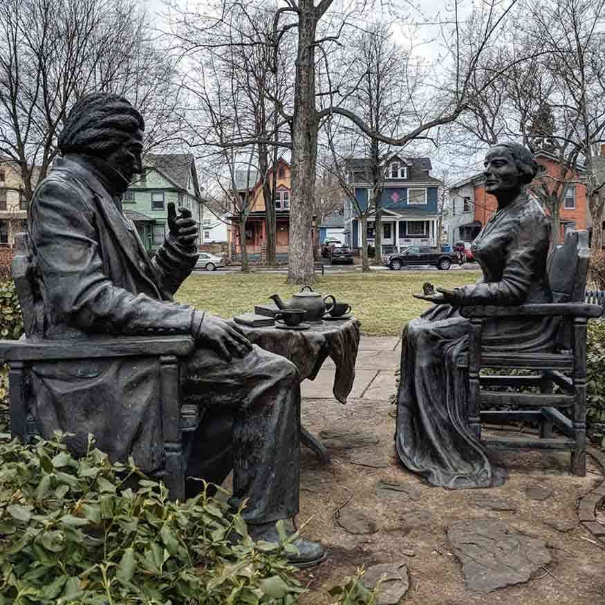 Susan B Anthony Frederick Douglass Lets Have Tea