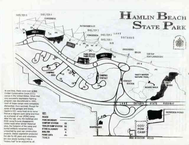 Thank you to Hamlin Selection for sharing an updated map that includes the camp at 968 Marsh Road, Yanty Marsh Boardwalk, and other features that older brochures are missing.