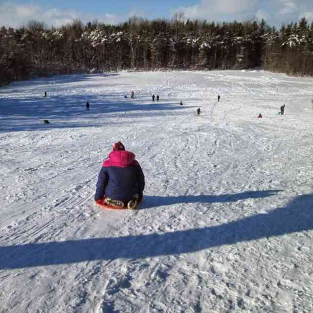 Sledding Hills Around Rochester: Black Creek Park