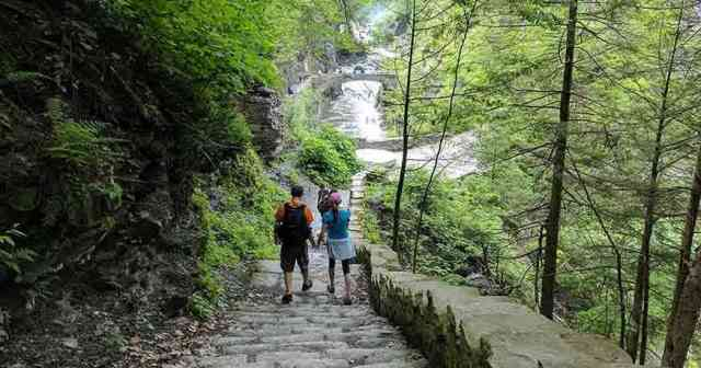 Rochester Experiences: Lower Falls at Letchworth State Park