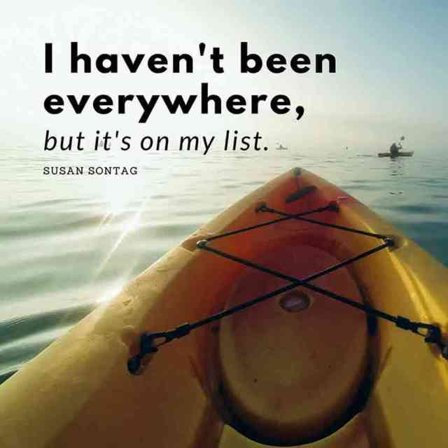 I have not been everywhere but it is on my list