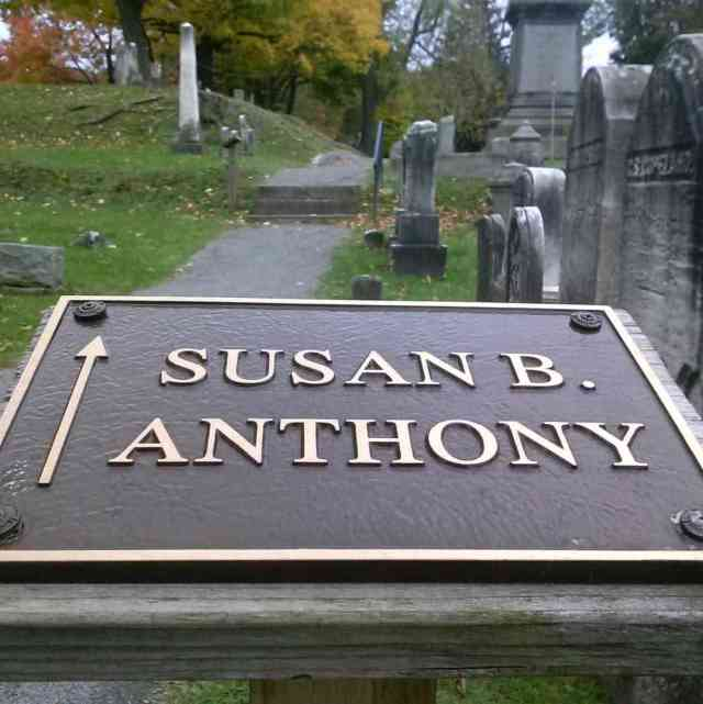Susan B Anthony Mount Hope Cemetery Rochester NY