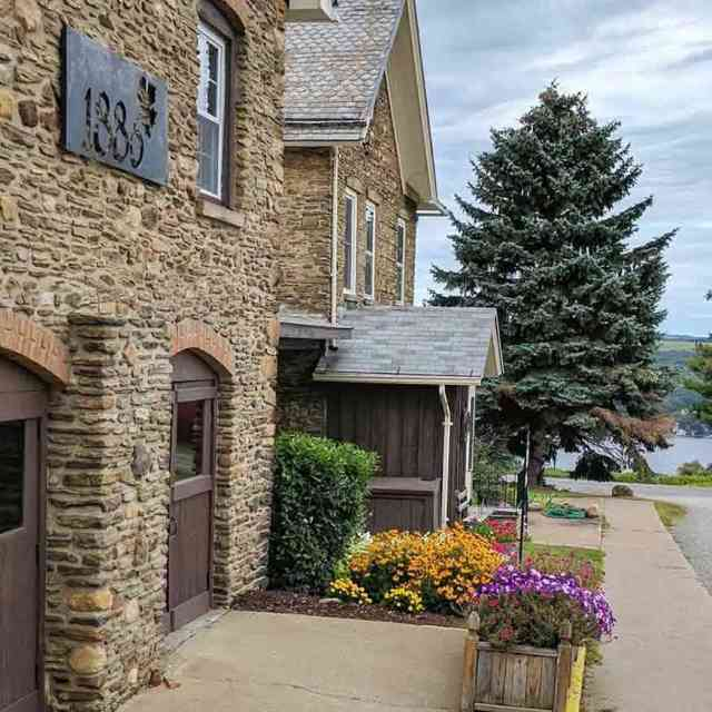Culinary Trails: Scenic Keuka Lake Views Dr Frank 1886 Reserve Room