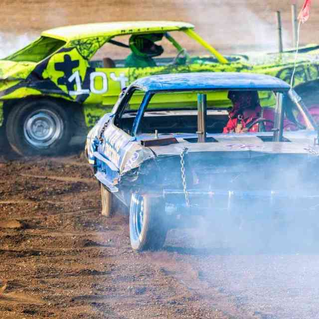 New York County Fairs: Demolition Derby