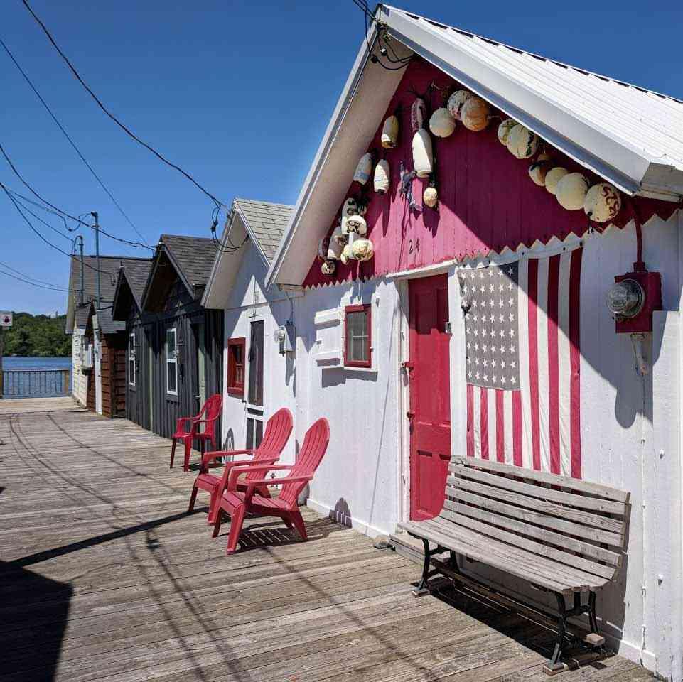 Roadside attractions: Canandaigua Lake Boat Houses pier 2