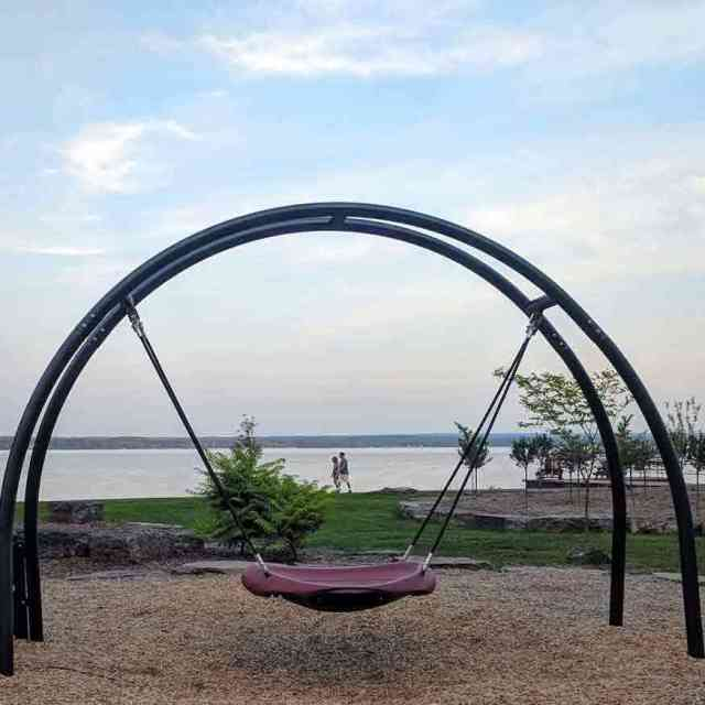 Cayuga Lake State Park Swing