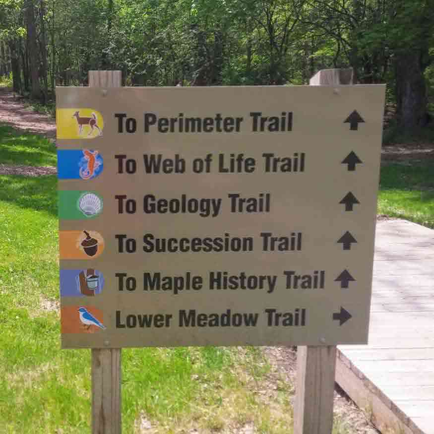 Genesee Country Village and Museum nature center