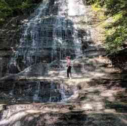 Grimes Glen Waterfall