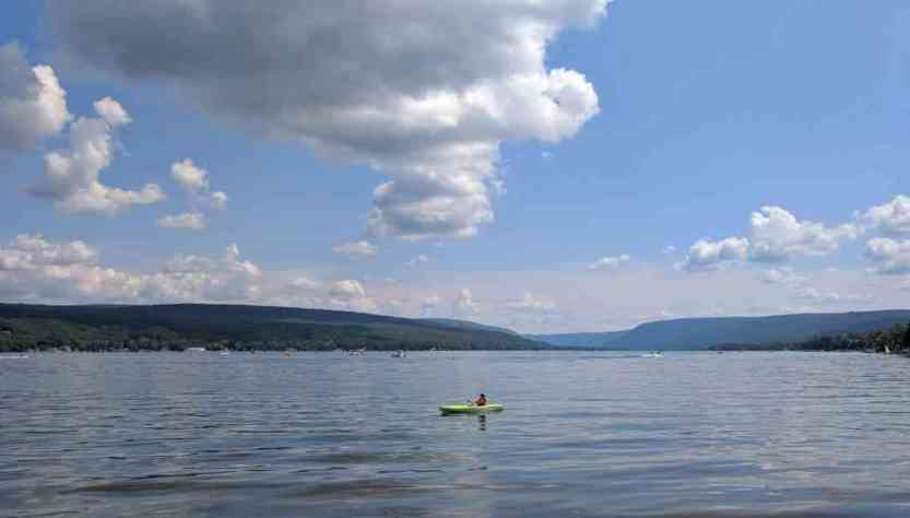 Progress in cleaning up Honeoye Lake