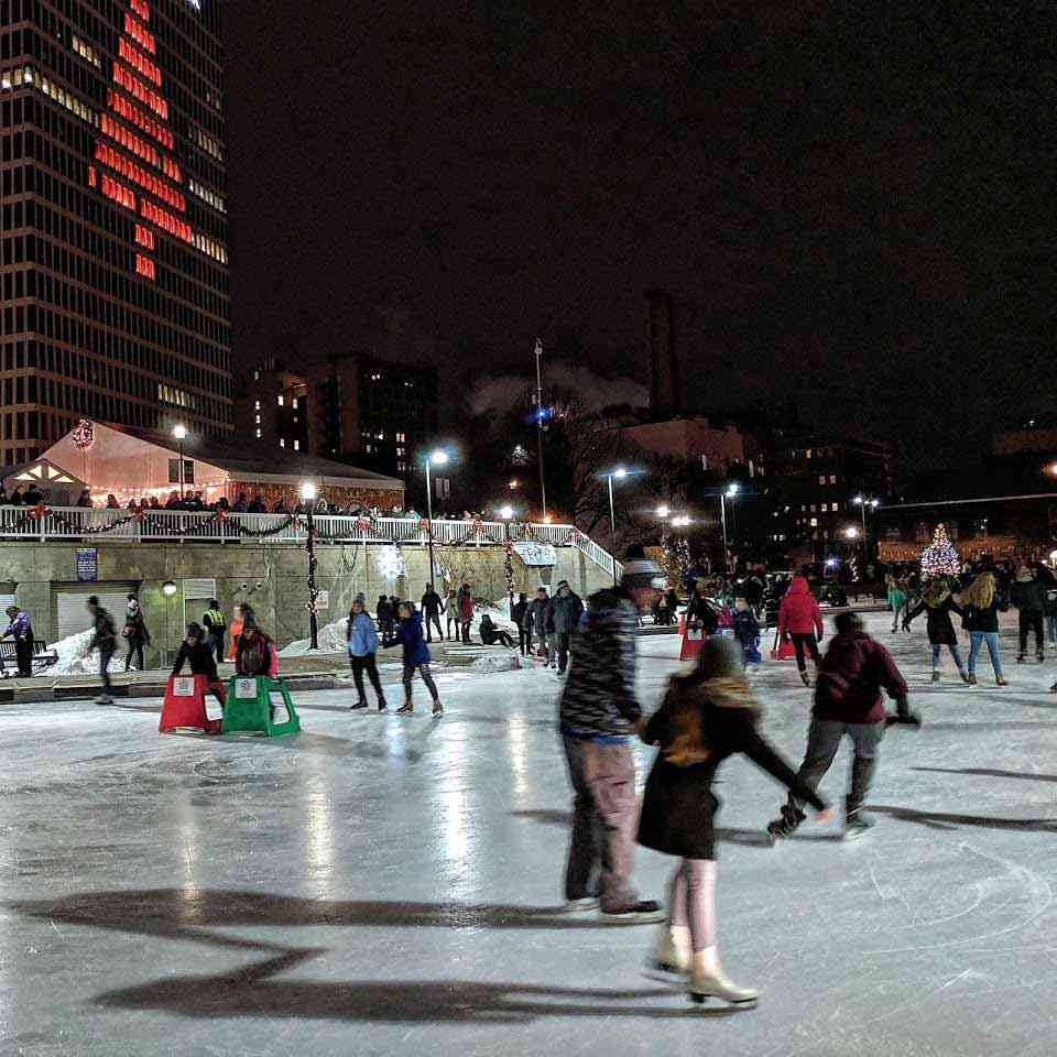 Date Night in Rochester: Ice Skating at Martin Luther King Jr Memorial Park