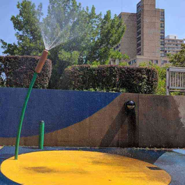 Martin Luther King Jr Park spray pad