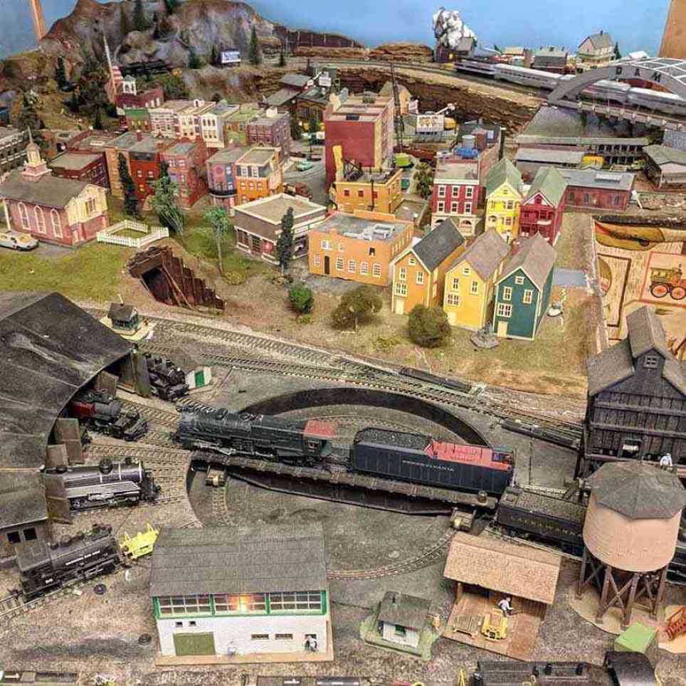New York Museum of Transportation Model Train
