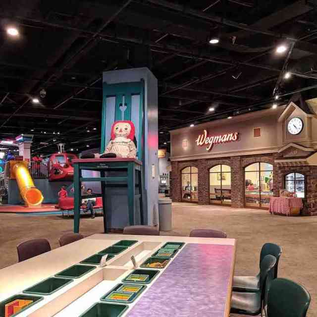 Strong Museum of Play open spaces