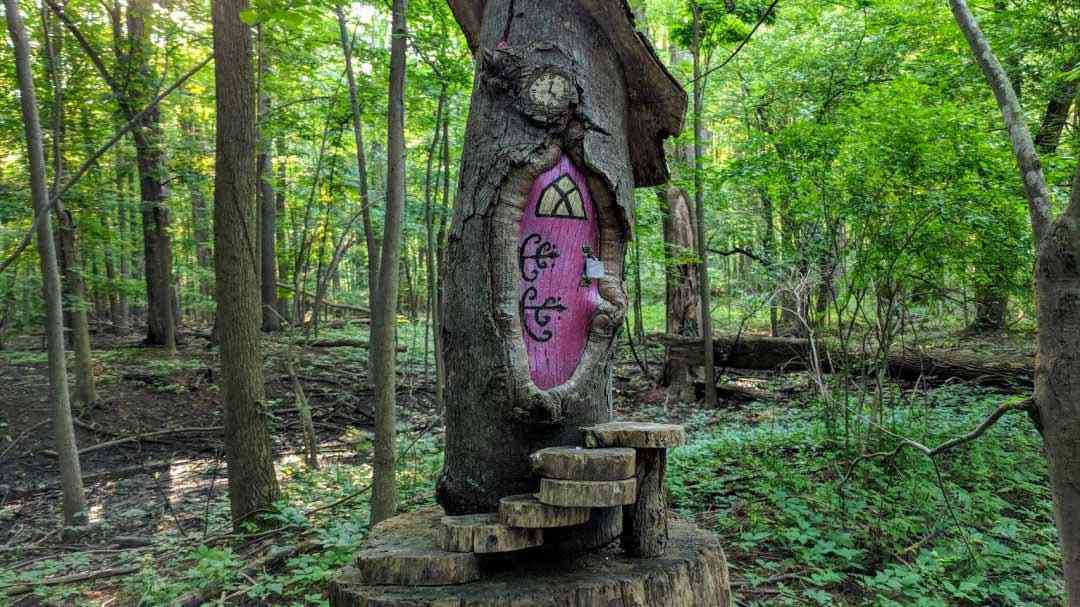 Monroe County Town Parks: Tinker Park fairy trail