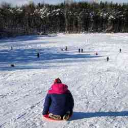 sledding snow sports mendon