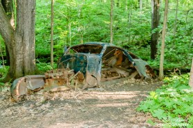 The Famous Car Along The Bruce Trail,