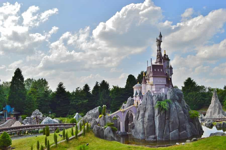 Little Train Ride in Disneyland Paris