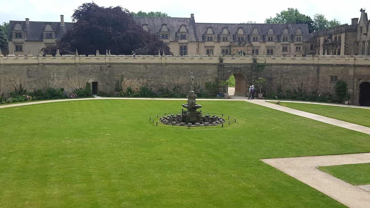 Bolsover Castle Gardens