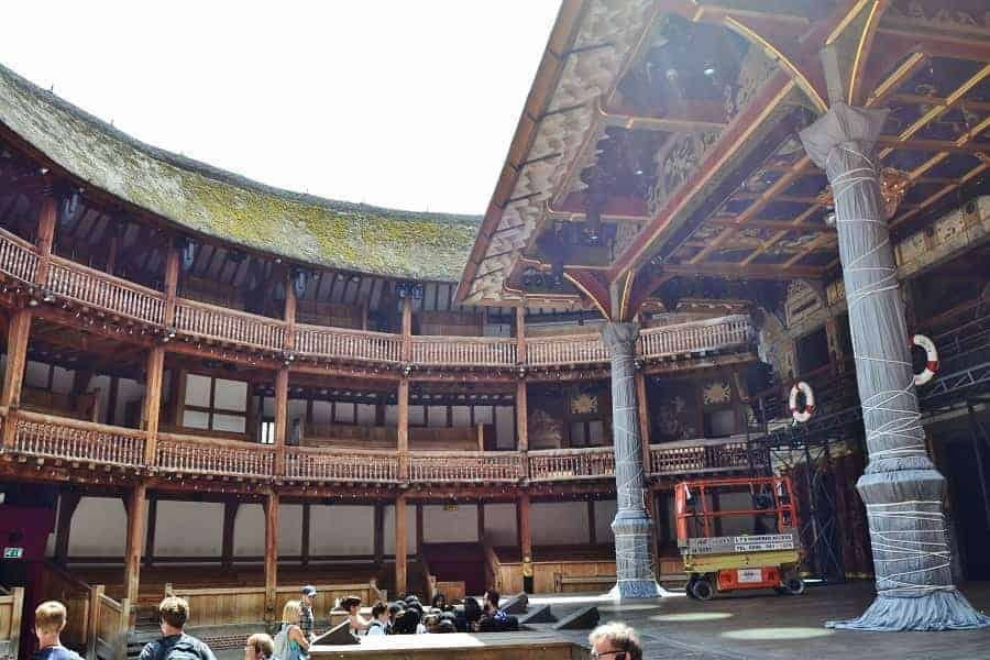 Touring the Globe Theater in London   Day Trip Tips Globe Theater interior