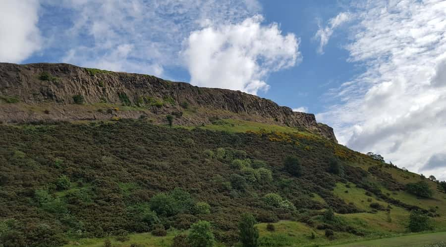 Arthur's Seat in Edinburg