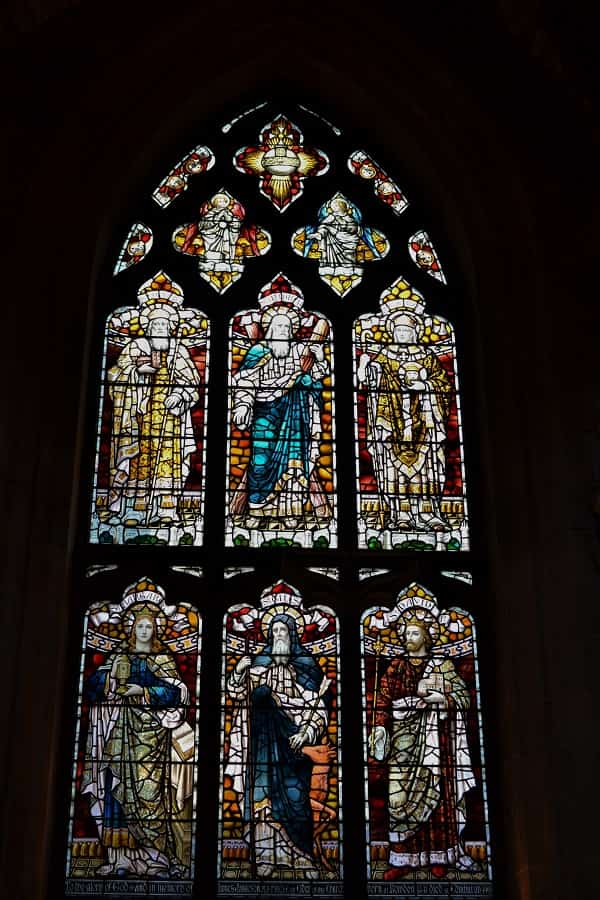 St Giles Stained Glass Window