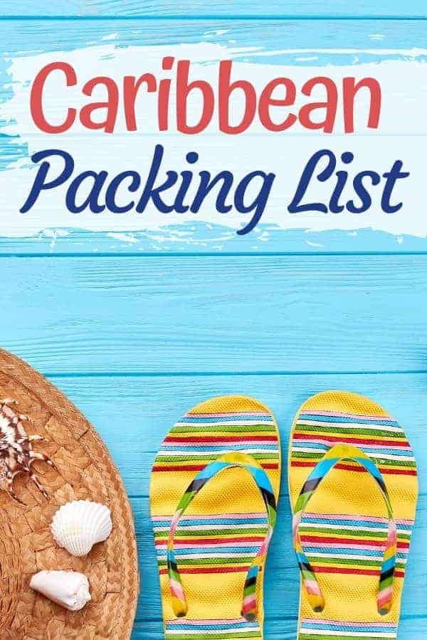 What to Take on Vacation to the Caribbean: Packing List