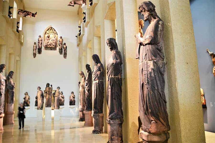 Religous Statues in Augustiner Museum