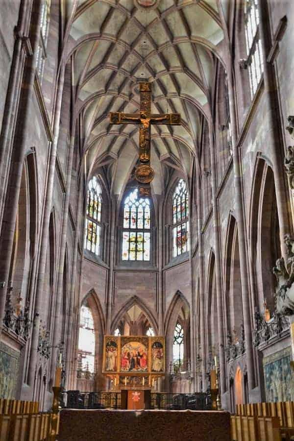Inside Freiburg Minster