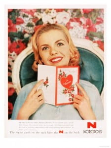 Cards Valentines Day Love, USA, 1950