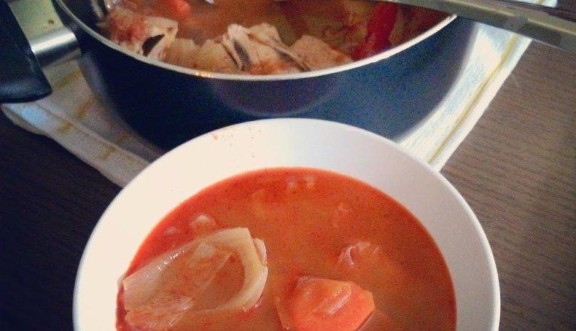 Tom Yum Gai (Chicken Tomyum Soup)