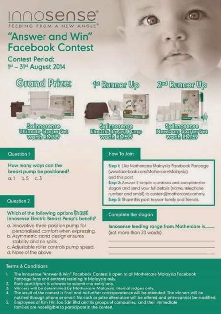 The Jesselton Girl Contest: Innosense 'Answer & Win' Facebook Contest