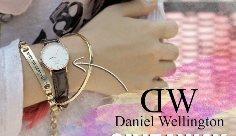 Giveaway: Daniel Wellington Watch by Small N' Hot