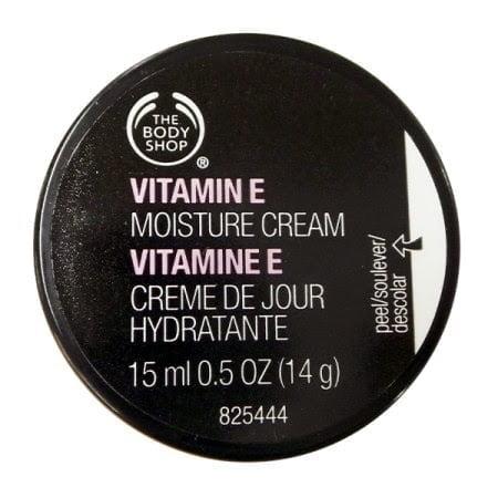 Giveaway: Body Shop Vitamin E Moisture Cream (15ml)
