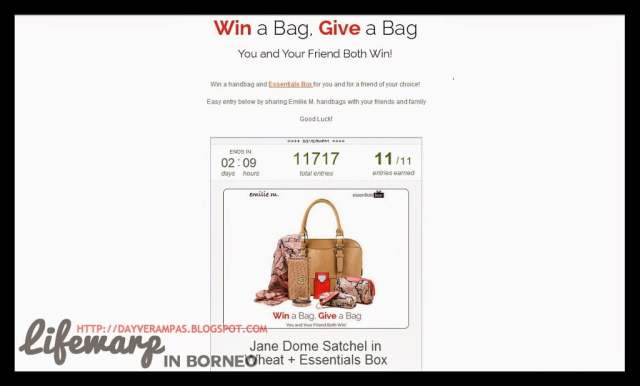 The Jesselton Girl Giveaway: Win a Bag. Give a Bag.