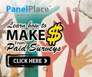 Money: PanelPlace Paid Online Survey
