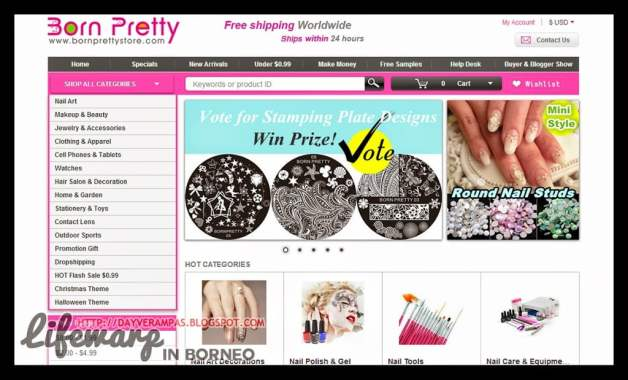 Shopping: Born Pretty Store