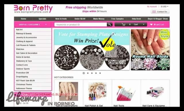 Shopping: Born Pretty Store, The Jesselton Girl