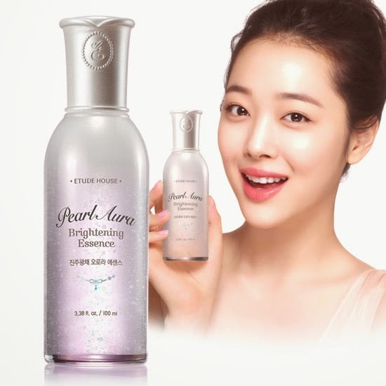 Giveaway: The Etude House Pearl Aura Brightening Essence (100ml)