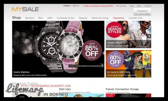 The Jesselton Girl Shopping: A Nightmare with MySale.My