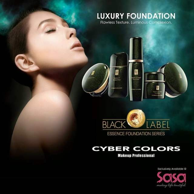 The Jesselton Girl Giveaway: Cyber Colors Black Label Essence Foundation Series